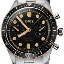 Oris Bronze Automatic Black 43mm new Divers Sixty Five