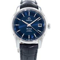 Omega De Ville Hour Vision Staal 41mm Blauw
