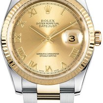 Rolex new Automatic Luminescent Numerals Luminescent Hands Screw-Down Crown 36mm Steel Sapphire Glass