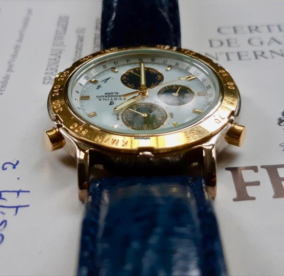 Festina Multi Chronograph Alarm, Box, Certificate & instruction manual