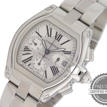 Cartier Roadster Steel 40mm Silver Roman numerals United States of America, Pennsylvania, Willow Grove