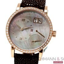 A. Lange & Söhne Little Lange 1 Rose gold 36mm Mother of pearl Roman numerals