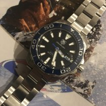 TAG Heuer Aquaracer 300M Steel 41mm Blue No numerals United States of America, Florida, WEST PALM BEACH