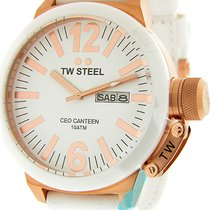 TW Steel Rose gold 50mm Quartz CE1036 new