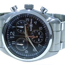 Bell & Ross Vintage Medium Chronograph Mens Watch
