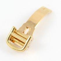 Cartier 18k Rose Gold folding clasp / deployant buckle 12mm -...