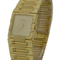 Piaget 15317K81 Large Size Square Dancer in Yellow Gold - on...