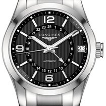 Longines Conquest Classic Steel 42mm Black United States of America, New York, Airmont
