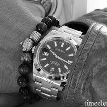 Rolex Datejust II  41 mm Index schwarz perfektes Fullset aus 2013