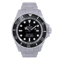 Rolex DEEPSEA 44mm Black Ceramic Bezel Watch 116660