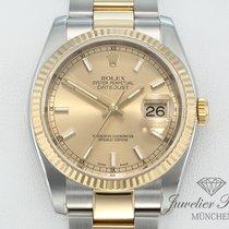 Rolex Datejust 116233 Stahl Gelbgold 750 Automatik Date Just