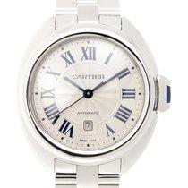 卡地亚  (Cartier) Clé De Cartier Stainless Steel White Automatic...