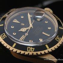 """Rolex Vintage: Rare Vintage Submariner Yellow Gold """"Ref.1680/8..."""