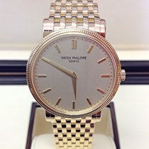 Patek Philippe Calatrava Yellow gold 35mm Silver United Kingdom, Wilmslow