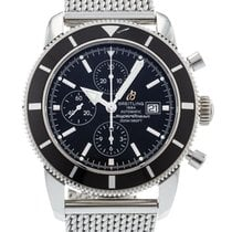 Breitling A13320 Stahl Superocean Héritage Chronograph 46mm