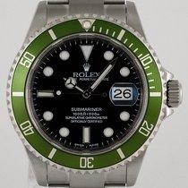 Rolex 16610 LV Stahl 2003 Submariner Date 40mm gebraucht Deutschland, München