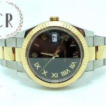 Rolex Datejust II Acero y oro 41mm Negro Romanos España, LOS BARRIOS