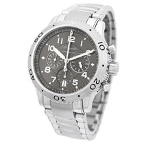 Breguet pre-owned Automatic 43mm Grey Sapphire crystal
