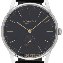 NOMOS Orion 38 new 2019 Manual winding Watch with original box and original papers 388