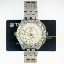 TAG Heuer SLR Steel 47mm Silver No numerals