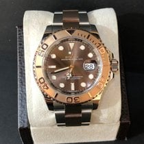 Rolex Yacht-Master 40 Steel 40mm Brown No numerals