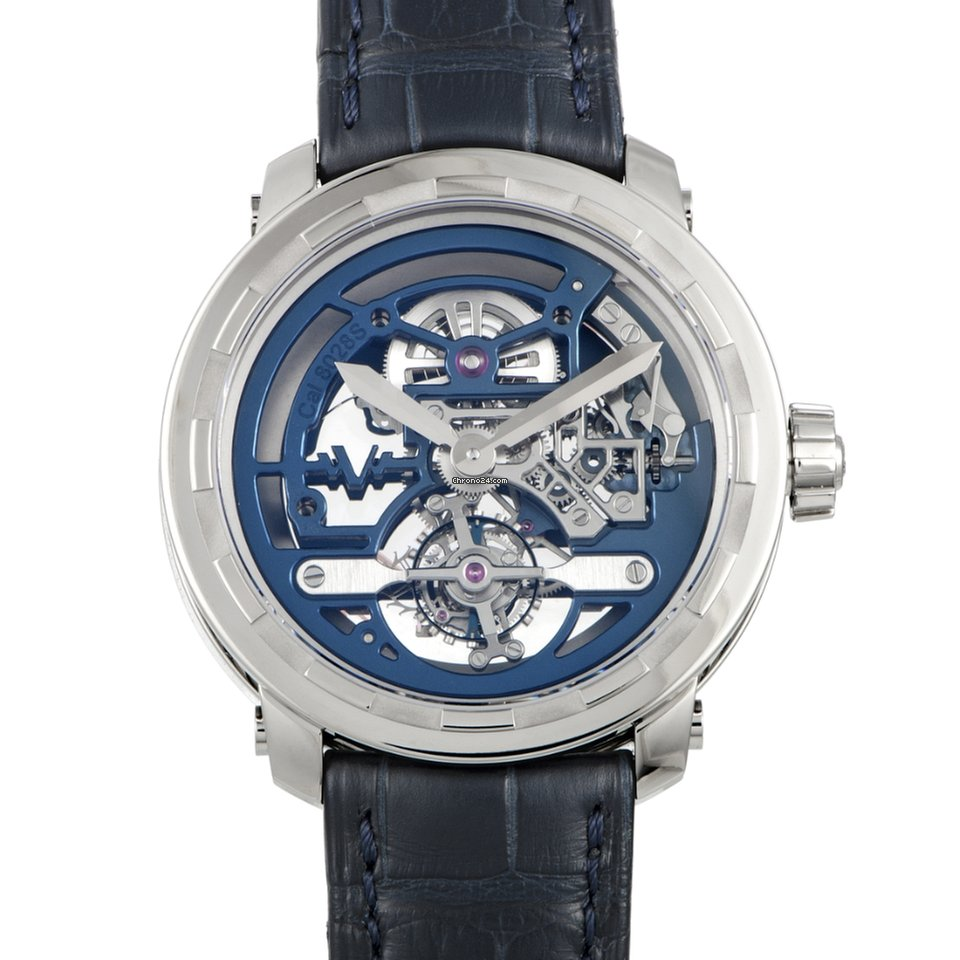 Dewitt Twenty-8-Eight Skeleton Tourbillon Watch T8 TH 024