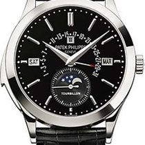 Patek Philippe Minute Repeater Perpetual Calendar Platinum 39,5mm Black Arabic numerals