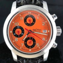 Paul Picot Acier 39mm Remontage automatique 4039 occasion