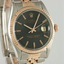 Rolex 1601 Zlato/Zeljezo 1975 Datejust 36mm rabljen