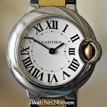 Cartier Goud/Staal Quartz Ballon Bleu 28mm tweedehands