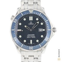 Omega Seamaster Diver 300 M Steel 41mm Blue No numerals