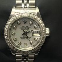 Rolex Oyster Perpetual Lady Date Zeljezo 26mm Bjel