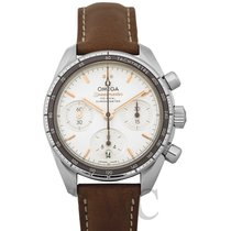 Omega Steel Automatic Silver 38mm new Speedmaster Ladies Chronograph