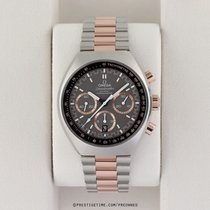 Omega Speedmaster Mark II Gold/Steel 42.4mm Grey United States of America, New York, Airmont