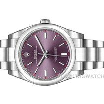 Rolex Oyster Perpetual 39 Steel 39mm Red No numerals United States of America, Florida, Aventura