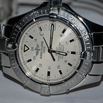 Breitling Colt Oceane Steel 33mm Silver No numerals United States of America, New York, Greenvale