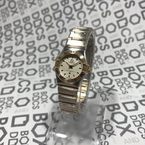 Omega Constellation Ladies Gold/Steel White