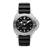 Panerai Steel Automatic Black 42mm new Luminor Submersible 1950 3 Days Automatic