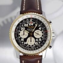 Breitling Navitimer Cosmonaute Zlato/Zeljezo 41.5mm Crn Arapski brojevi