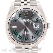 Rolex Datejust Steel 41mm Grey