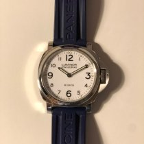 Panerai Luminor Base 8 Days Acier 44mm Blanc Arabes France, Paris