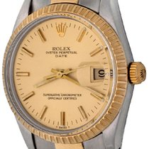 Rolex Oyster Perpetual Date Steel 34mm Champagne No numerals United States of America, Texas, Dallas