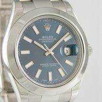 Rolex Datejust II Stahl 41mm Blau Deutschland, Heilbronn