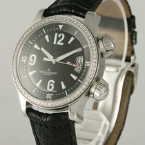 Jaeger-LeCoultre Master Compressor Lady Automatic Steel 36mm Black Arabic numerals