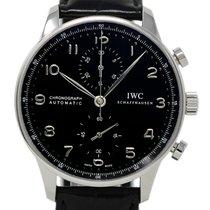 IWC Portuguese Chronograph nouveau 2019 Remontage automatique Chronographe Montre avec coffret d'origine et papiers d'origine IW371447