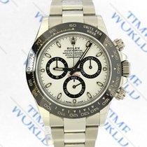 Rolex Daytona Stahl 40mm Weiß