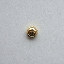 Omega Corona / Crown laminata oro mm 5