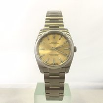 Rolex Oyster Perpetual 34 Сталь 34mm Без цифр