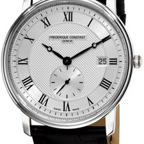 Frederique Constant Slimline Gents Steel 41.4mm Silver United States of America, New York, Brooklyn