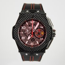 Hublot NEW Big Bang Ferrari Carbon Red Magic